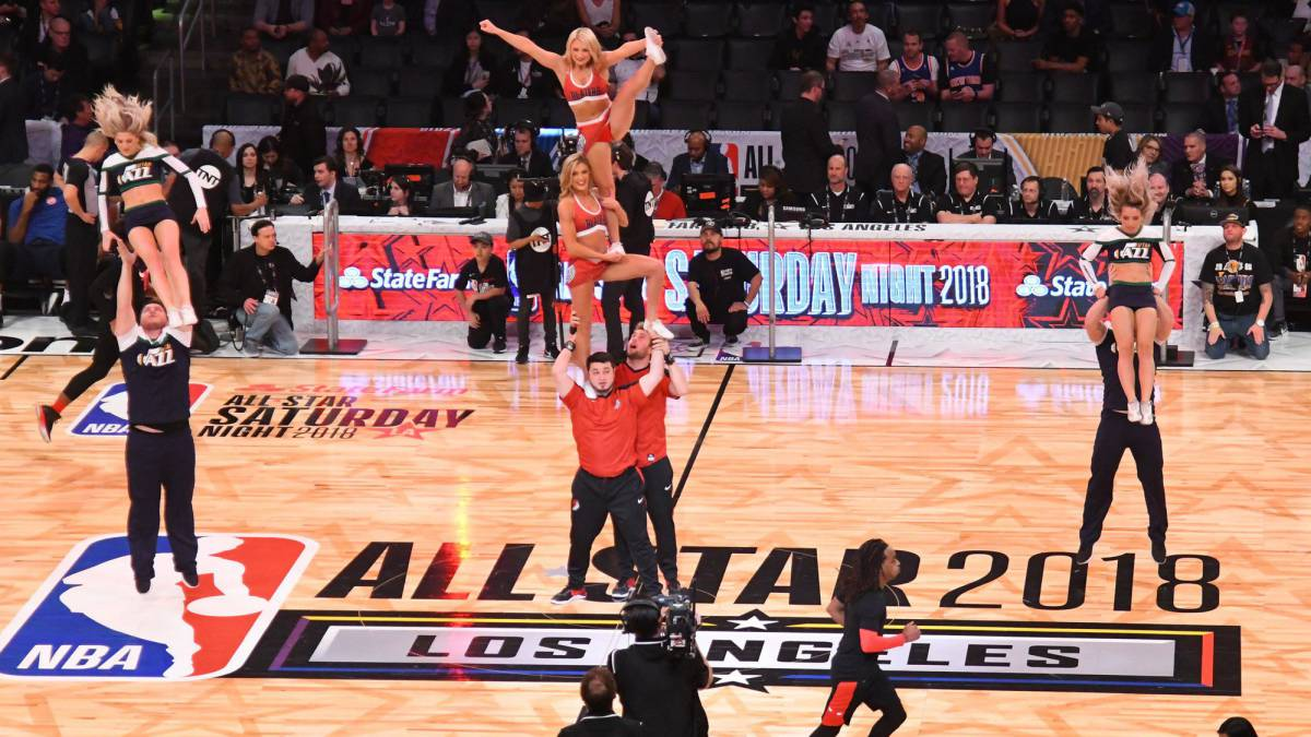 El Staples Center, hogar del NBA All Star 2018.