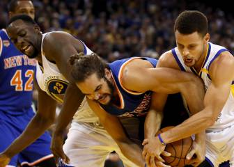Rumores: Warriors, Thunder y Wolves van a por Joakim Noah