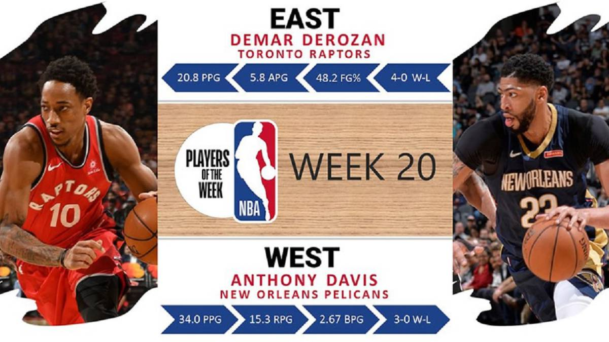 DeMar DeRozan y Anthony Davis