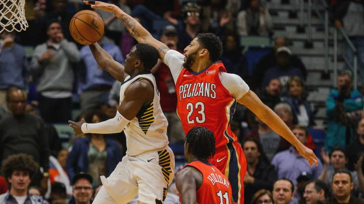 Anthony Davis y Mirotic, cada vez más cerca de los playoffs
