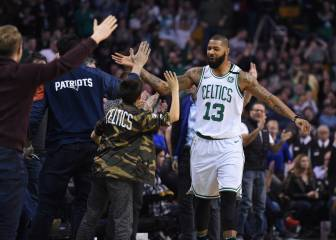 La noche NBA: récord para Stevens en Boston, héroe Bogdanovic y 11+12 de Willy