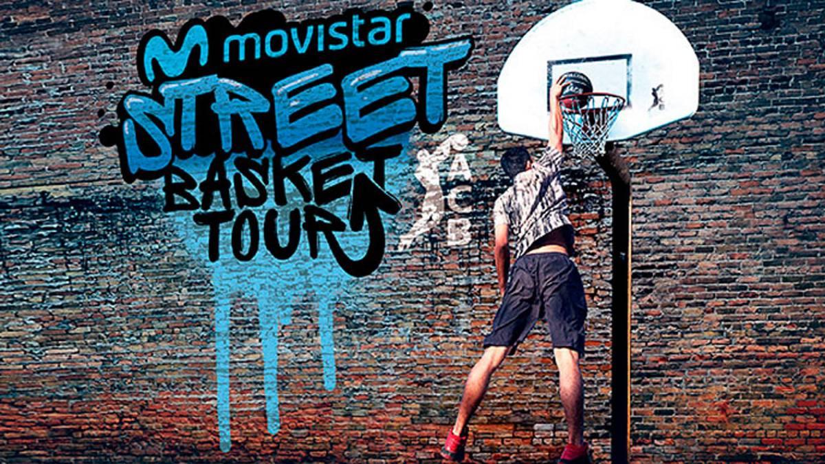 Acb y telef nica crean movistar street basket tour for Guia telefonica malaga