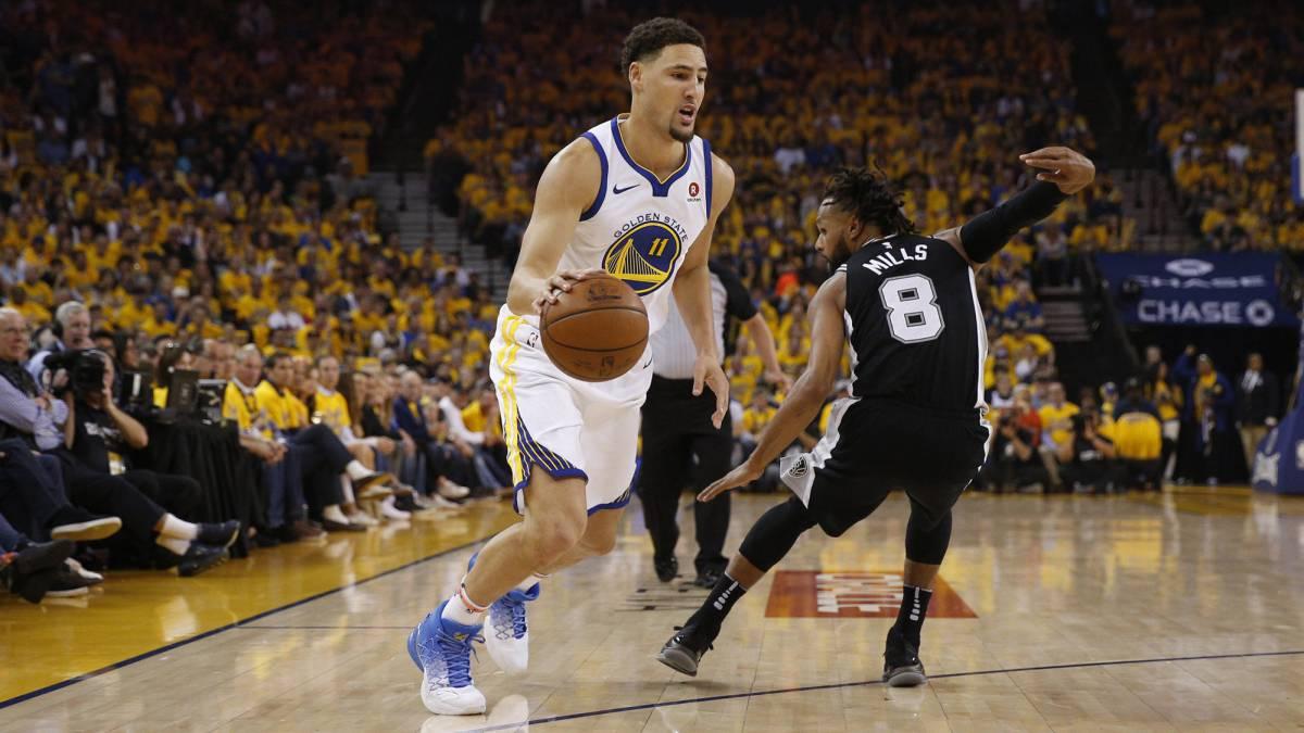43b7f5f71c607 Resultado Warriors 113 - 92 Spurs  Golden State arrolla en el Game 1