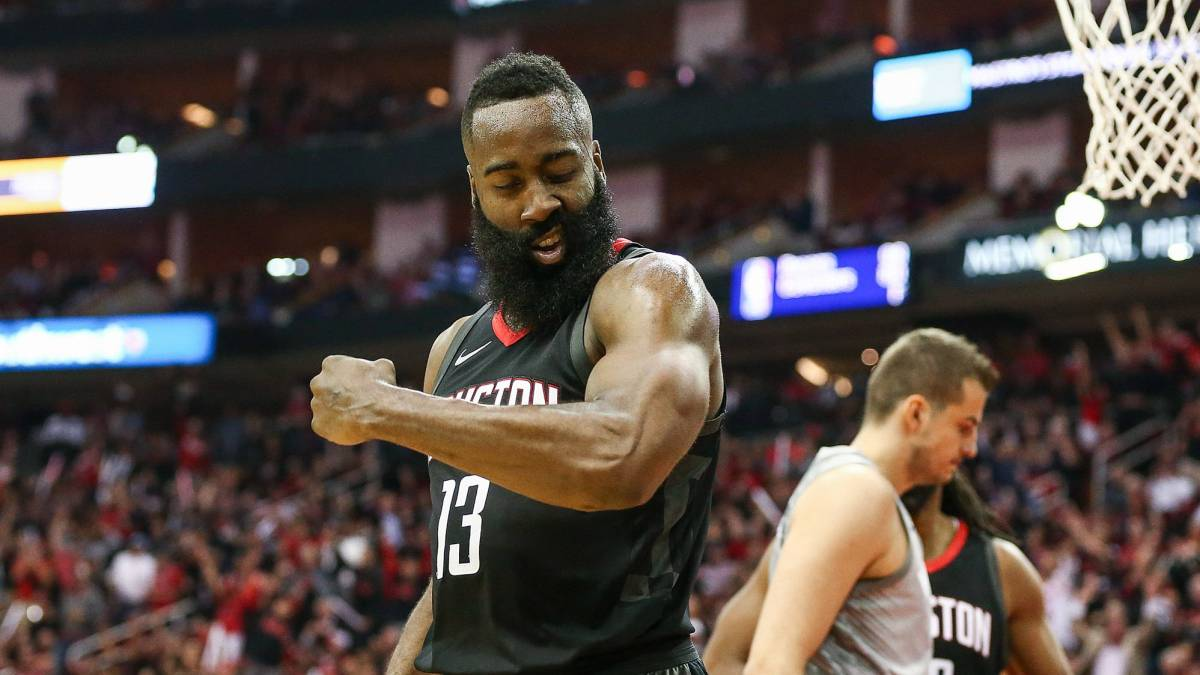 Un Harden espectacular (44) salva a los Houston Rockets