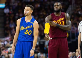 Warriors vs Cavs por 4º año seguido: lo nunca visto en USA