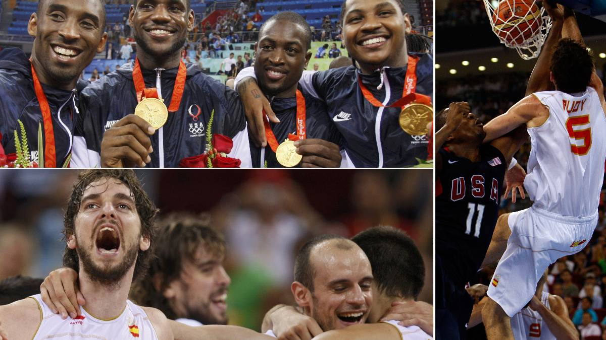 Diez años del legendario España-USA de Pekín: ¿Qué ha sido de sus 24 protagonistas?
