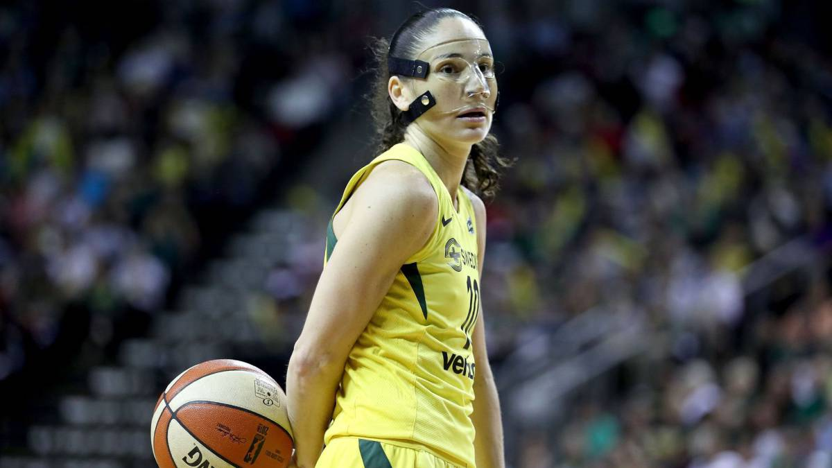 Sue Bird, jugadora de las Seattle Storm.