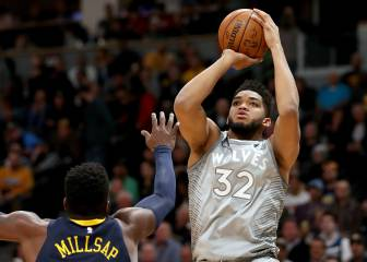 Wolves: 190 millones para Towns y Butler