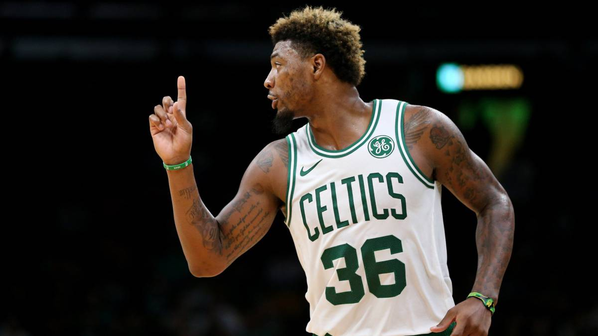 Marcus Smart, jugador de los Boston Celtics.
