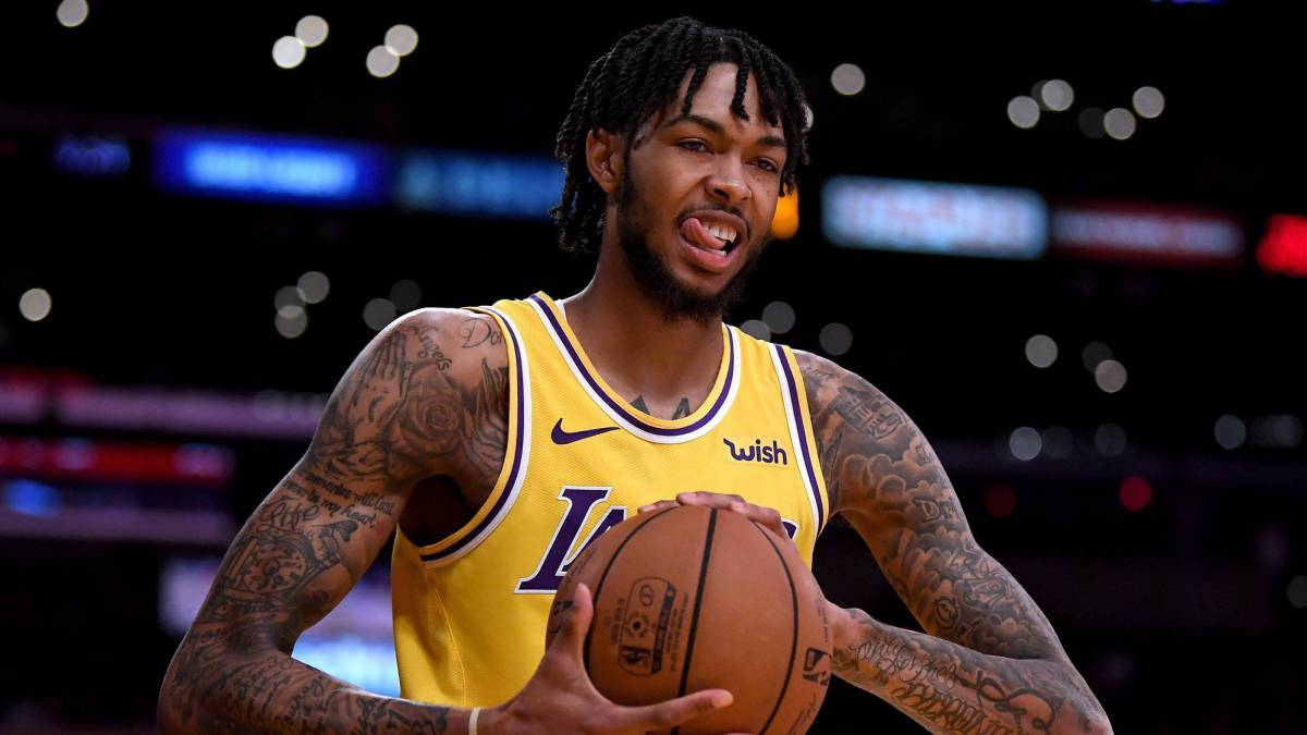 Brandon Ingram, durante el partido contra Denver Nuggets.