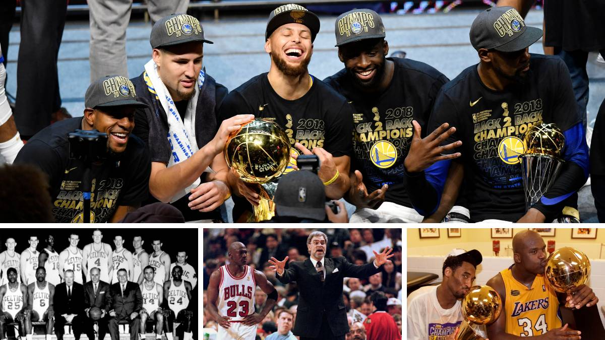 El reto de los Warriors: mirar de tú a tú a Lakers, Celtics y Bulls