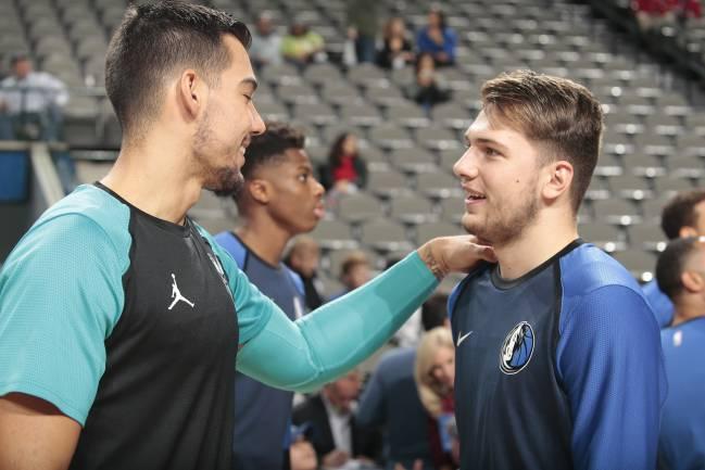 Willy Hernangómez y Luka Doncic: dos ex-compañeros en el Real Madrid se reencuentran en la NBA