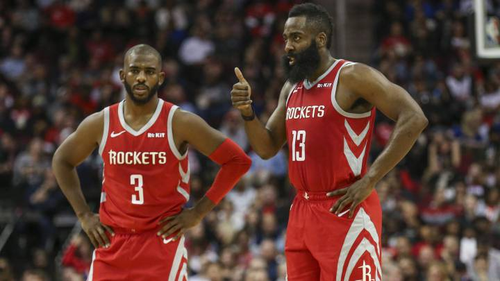 Chris Paul y James Harden