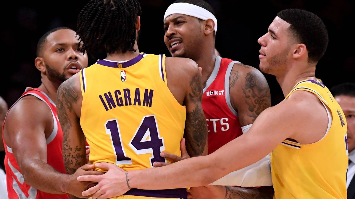 ¿Fin al rumor? Los Lakers no están interesados en Carmelo