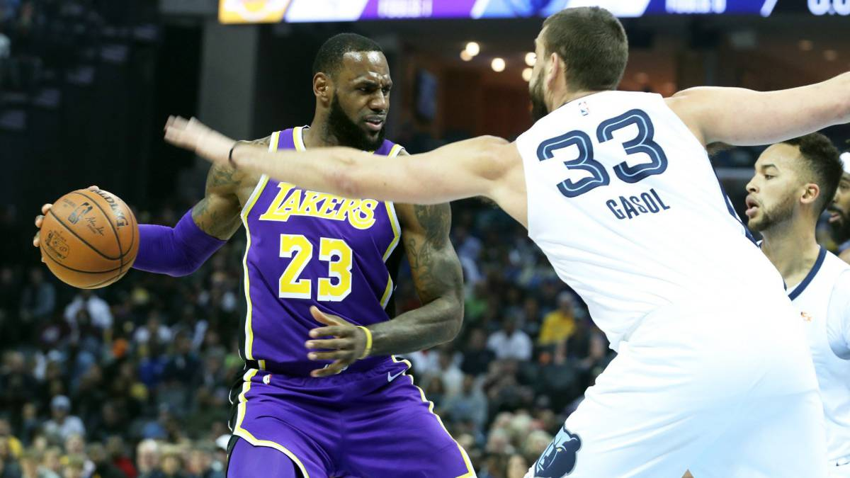 LeBron James y Marc Gasol
