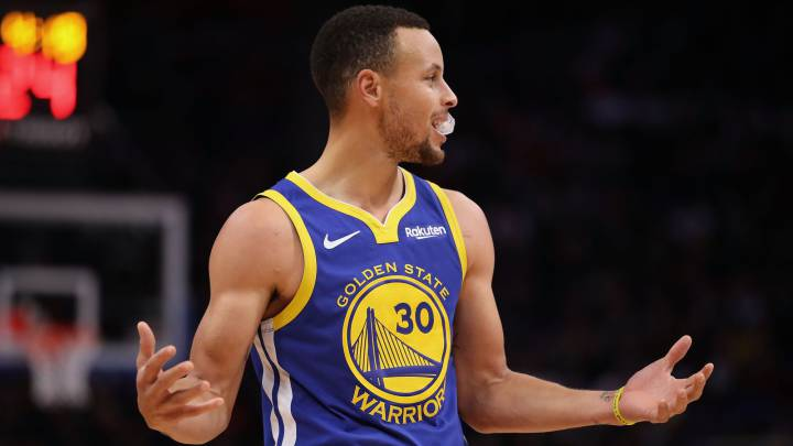 Stephen Curry, base de los Golden State Warriors.