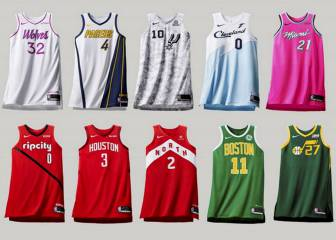 La NBA presenta los Earned Edition Uniforms para Navidad 1e0a1d59474cb