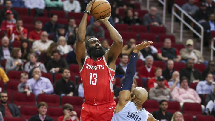 Resumen del Houston Rockets - Memphis Grizzlies con Harden MVP