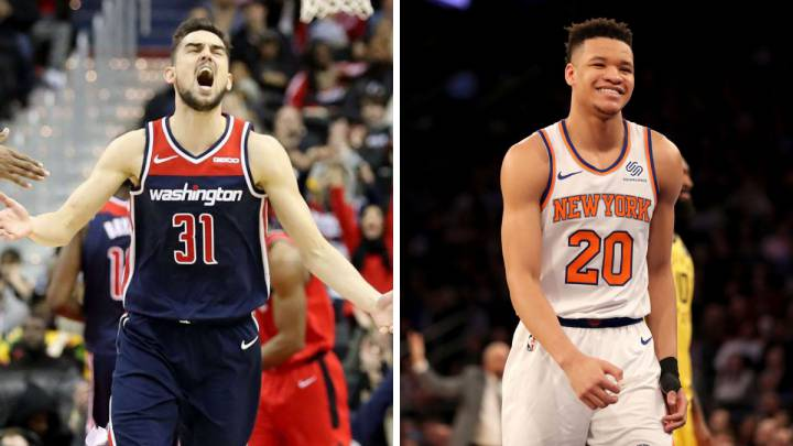 Wizards y Knicks palían el hastío con personajes alternativos