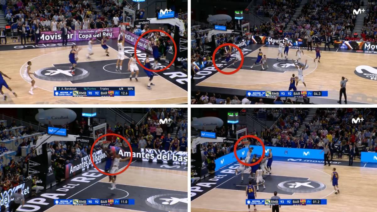 Los 4 errores arbitrales en los últimos 12 segundos del partido