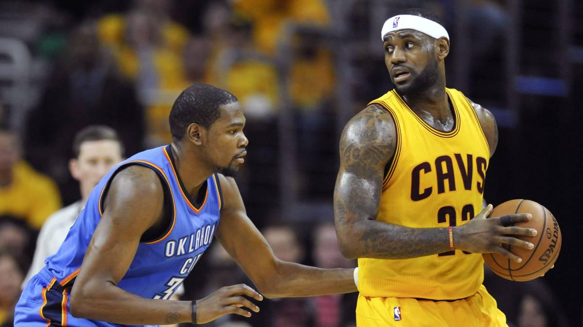 LeBron James, ante Kevin Durant.