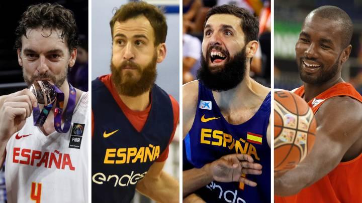 Los grandes ausentes de España en el Mundial de baloncesto 2019