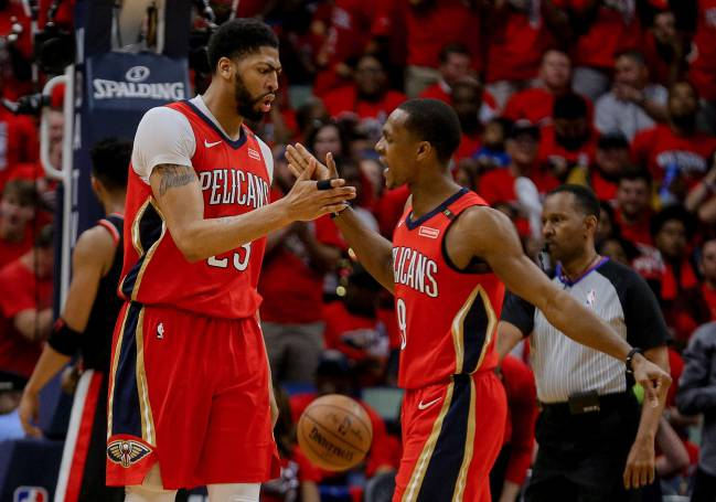 Rondo volvió a recuperar su nivel con los Pelicans en playoffs