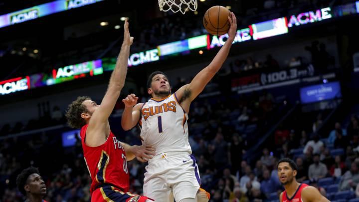 Los Suns de Ricky (15 asistencias) ganan con un Booker colosal