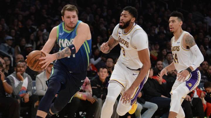Lakers Mavericks Horario Tv Y Como Ver En Vivo La Nba