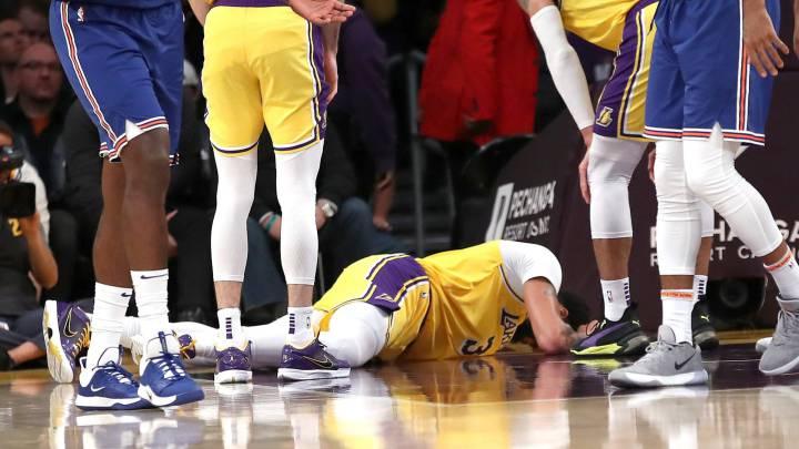Respiran los Lakers: Davis no tiene nada y viajará a Dallas