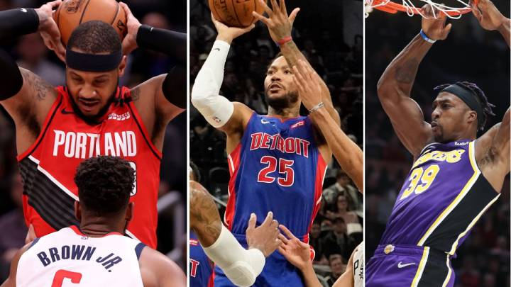 Carmelo, Dwight Howard, Rose... el 'resurgir de los malditos' en la NBA