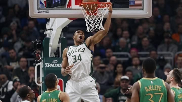La apisonadora de Giannis pasa por encima de los Celtics