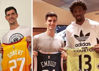 La NBA cautiva a Courtois: el fan de Young y Doncic sin equipo favorito