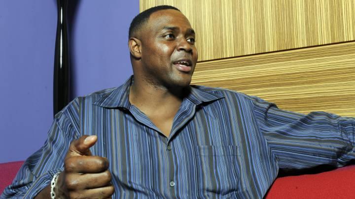 El ex jugador de los Chicago Bulls de la NBA Horace Grant, durante una entrevista