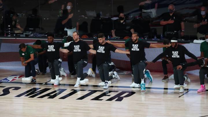 """La NBA reacciona al abuso policial de Wisconsin: """"A la mierda los playoffs"""""""