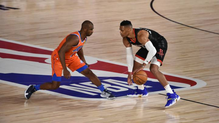 Russell Westbrook y Chris Paul, en el radar de los Knicks