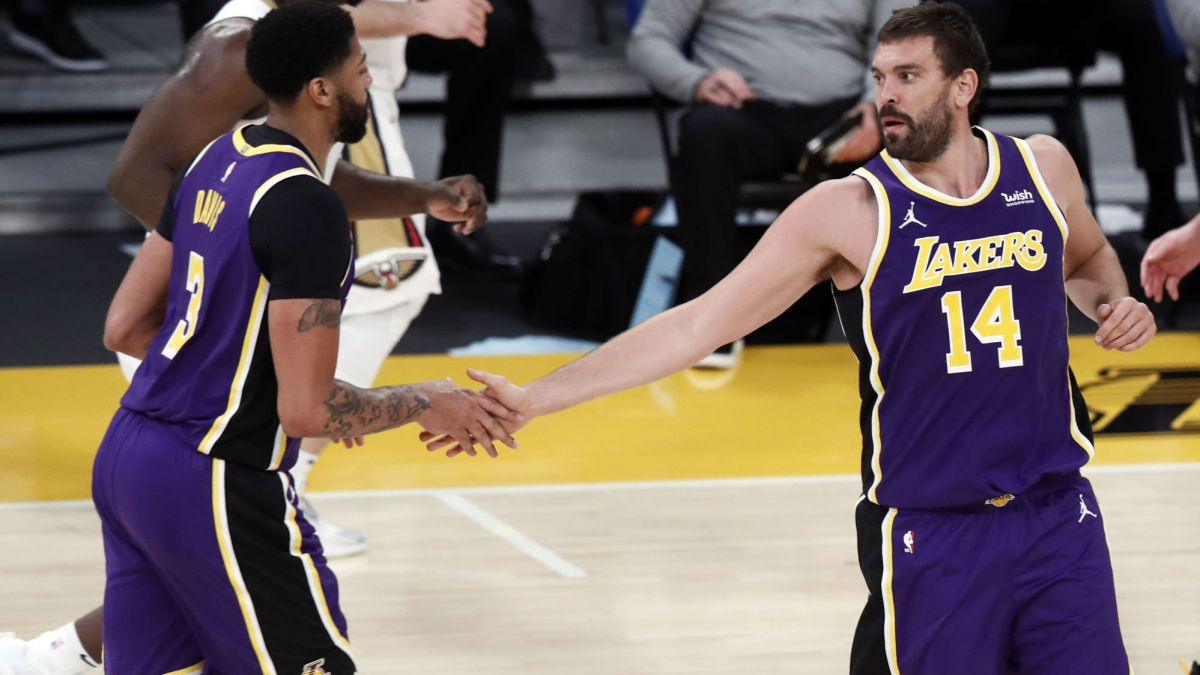 Another beating without forcing: the Lakers rule the NBA at will