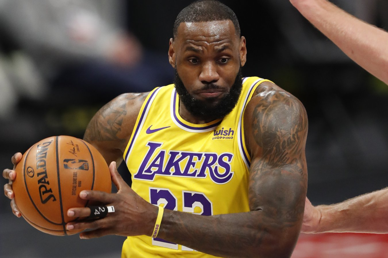 LeBron James (alero, Los Angeles Lakers)
