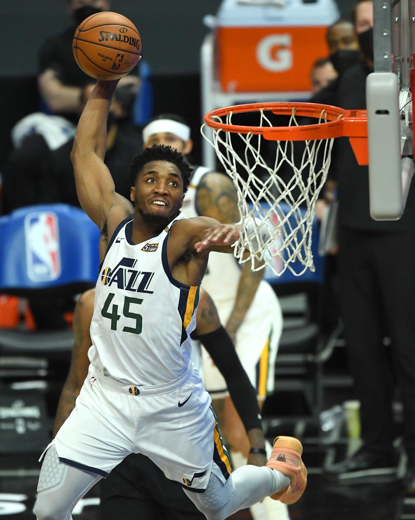 Donovan Mitchell (escolta, Utah Jazz)