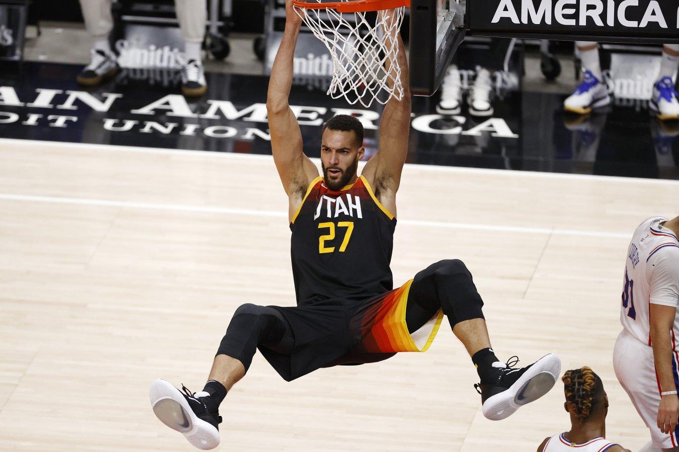 Rudy Gobert (pívot, Utah Jazz)