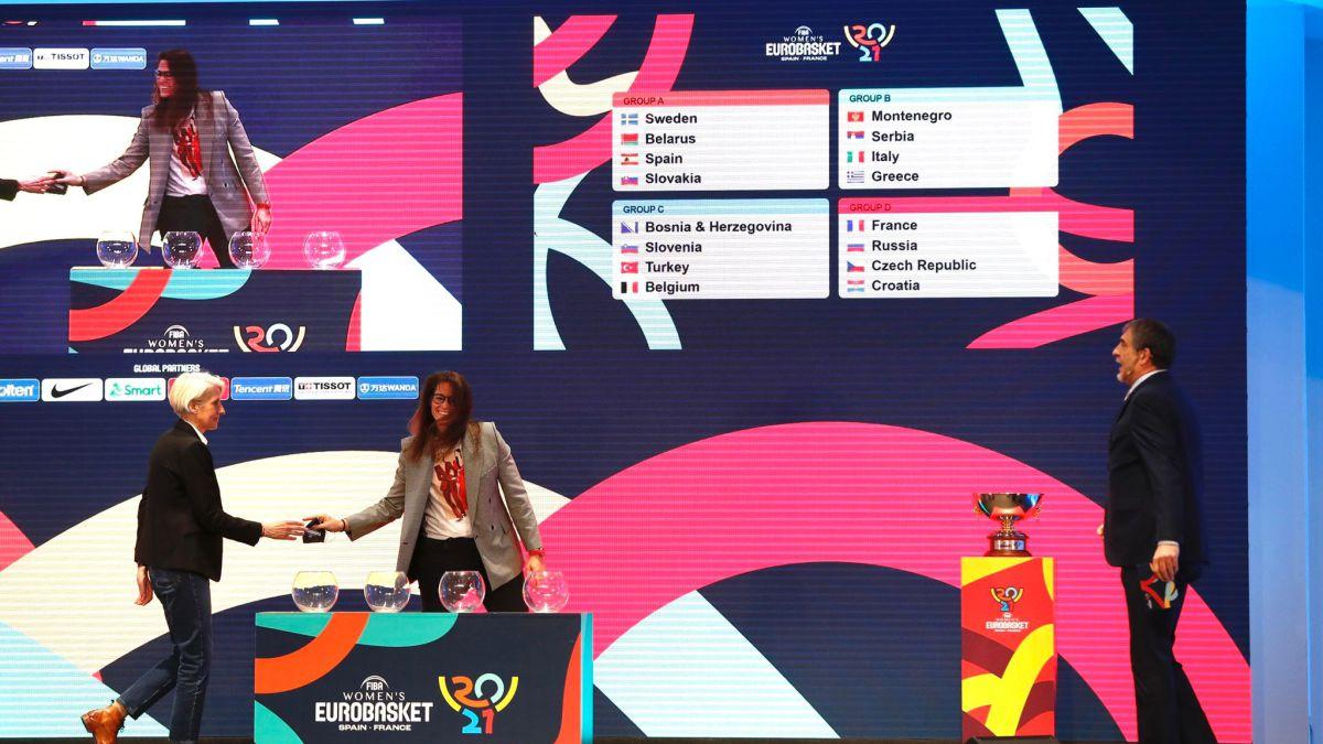 Suecia, Bielorrusia y Eslovaquia, rivales de España en Valencia