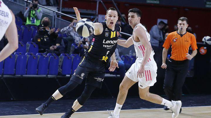 Real Madrid - Lenovo Tenerife, en directo: Liga ACB 2020-21 en vivo