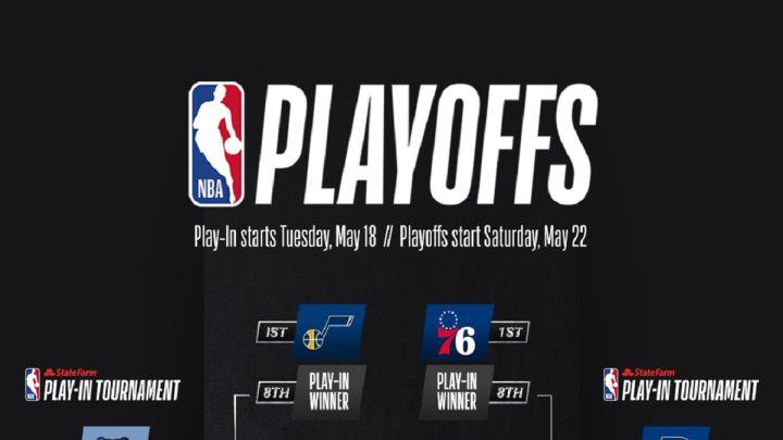 Así quedan el play-in y los playoffs de la NBA 2021