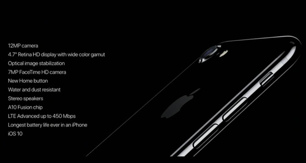 5f51d9cde5d Así es el iPhone 7, especificaciones y características oficiales ...