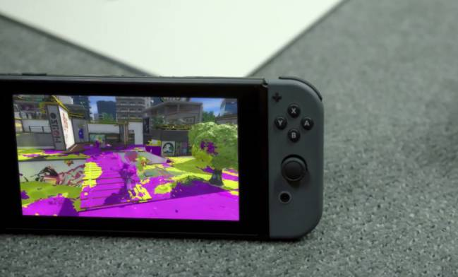 El divertido Splatoon también en Switch