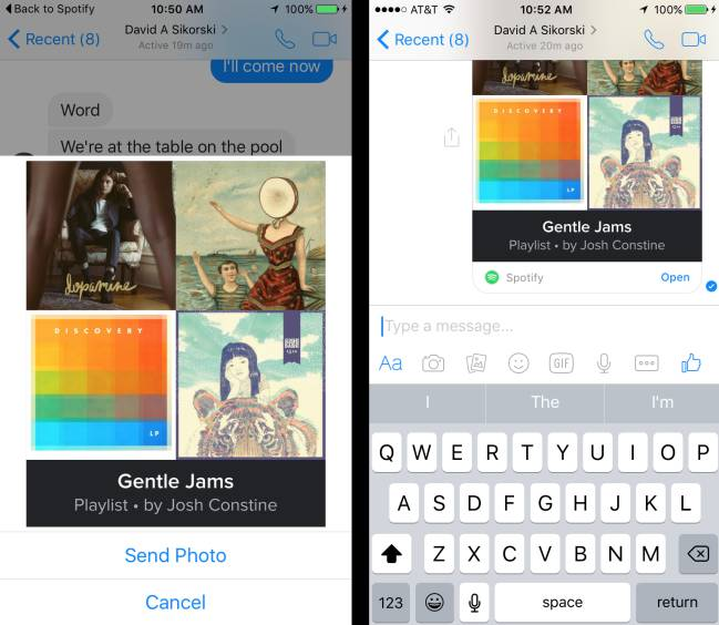 Como Compartir Canciones Y Guardar Fotos En Facebook Messenger As Com