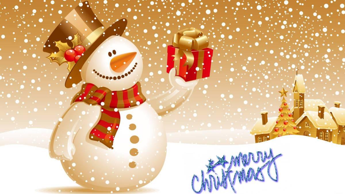 Felicita La Navidad Con Una Foto En Movimiento A Modo De Christmas