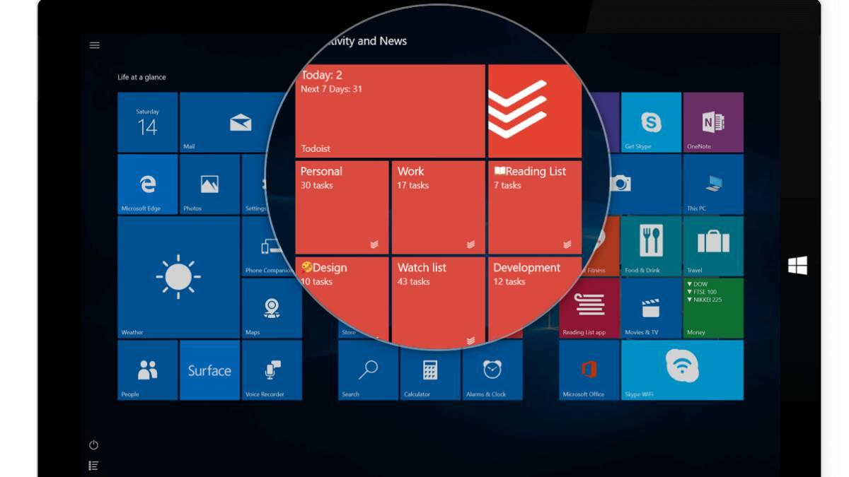 f08b3eef489e2 Cómo restaurar la configuración del menú Inicio de Windows 10 tras un  formateo