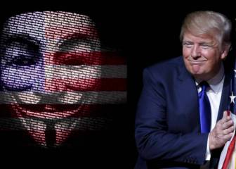 El Grupo hacker Anonymous amenaza a Donald Trump