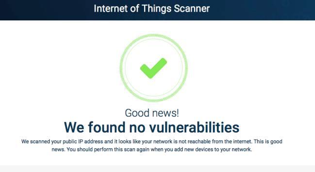 IOT Scanner te dice en un instante si tienes algún dispositivo expuesto en Shodan